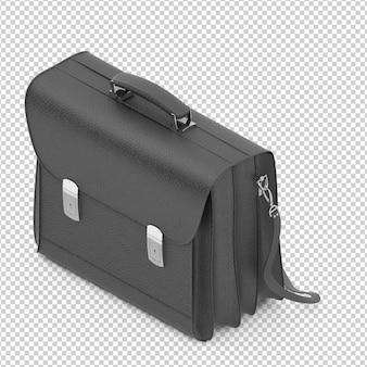 Isometrische Bürotasche