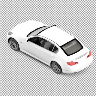 Isometrisches Auto