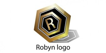 Robyn goldenen Logo-Design
