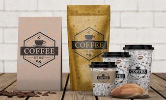 Schreibwaren-Modell für Café