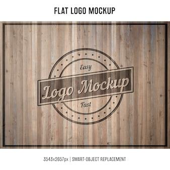 Stamped Logo Mock up