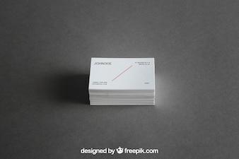Visitenkarten-Stack-Modell