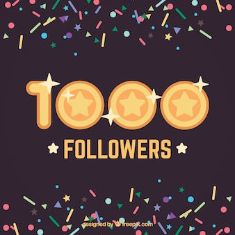 1000 éléments suiveurs