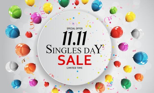11 novembre, vente à la journée pour célibataires.