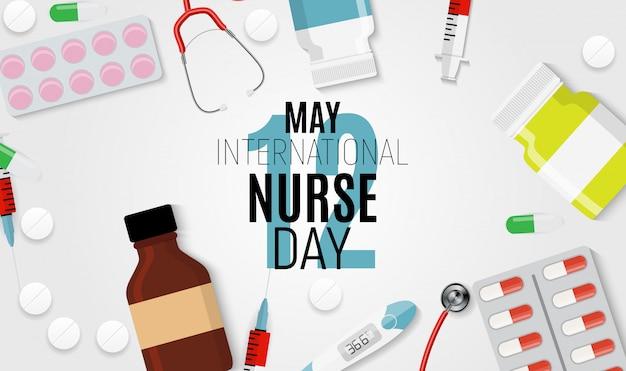 12 mai journée internationale des infirmières médicales