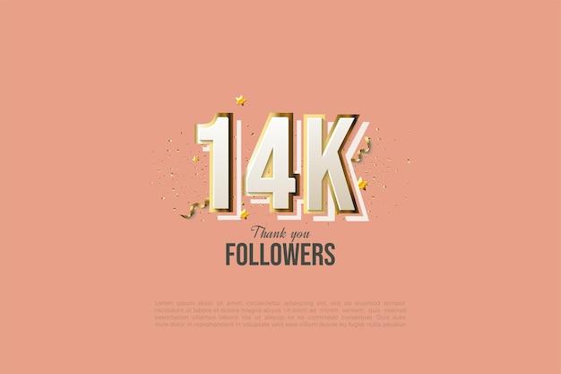 14 000 abonnés avec un design numérique moderne