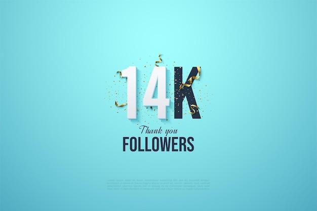 14 000 abonnés avec des numéros et des festivités