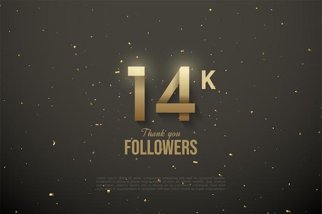 14 000 abonnés avec des numéros à motifs personnalisés