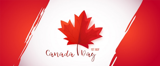 1er juillet, fête du canada.