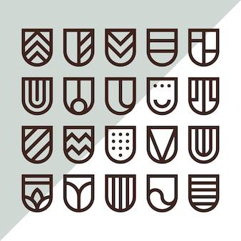 20 logo des boucliers