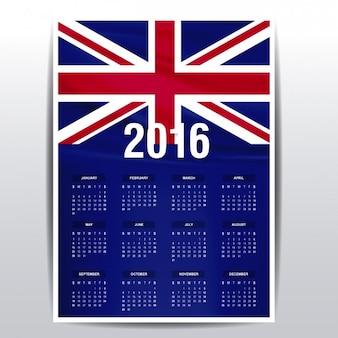 2016 calendrier des le royaume-uni
