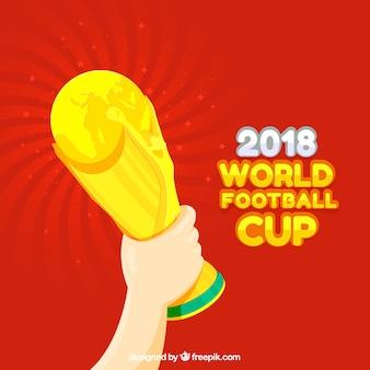 2018 fond de la coupe du monde de football