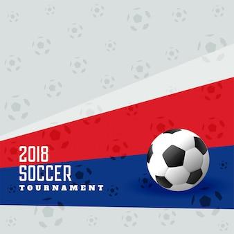 2018 fond de football de coupe de football