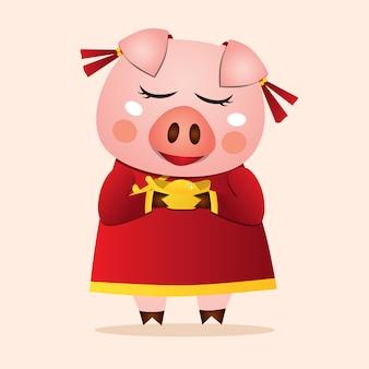 2019 nouvel an chinois du cochon