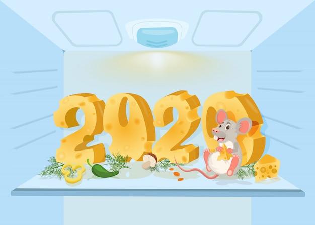 2020 année de souris.