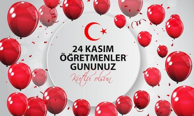 24 novembre journée des professeurs de turc