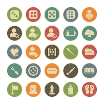 25 icon set universel pour usage personnel et commercial ...