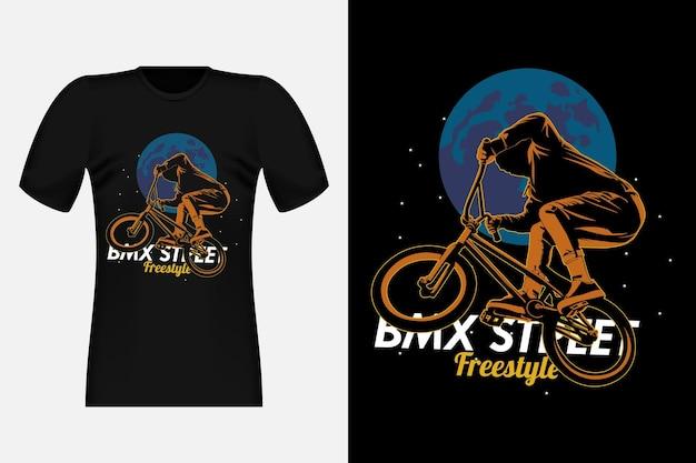 26. parkour urban ninja silhouette illustration de conception de t-shirt vintage