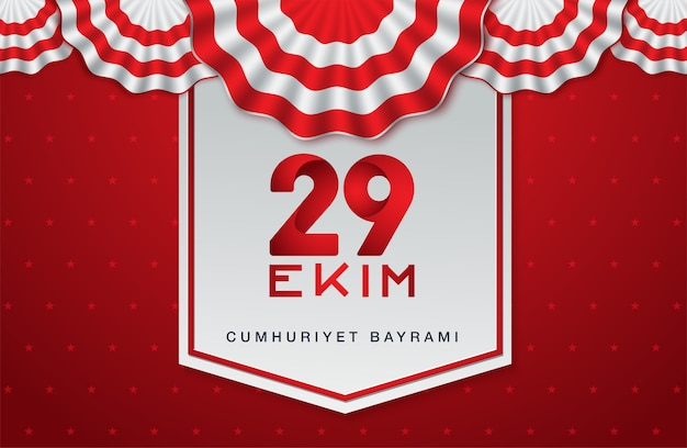 29 ekim cumhuriyet bayrami, république de turquie