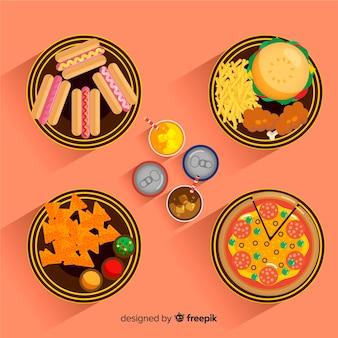 2ème collection de plat de nourriture