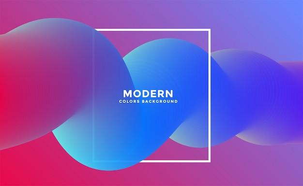 3d abstrait mouvement coloré fluide