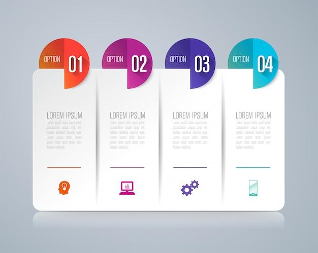 4 éléments d'infographie métier pour la présentation
