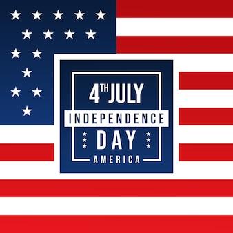 4 juillet fête de l'indépendance de l'amérique