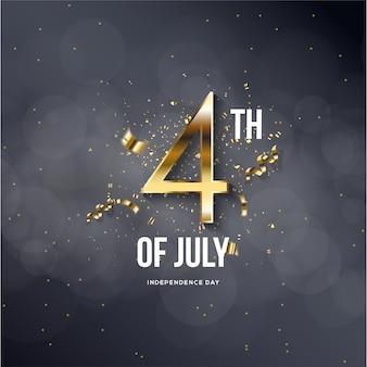 4 juillet indépendance des états-unis d'amérique