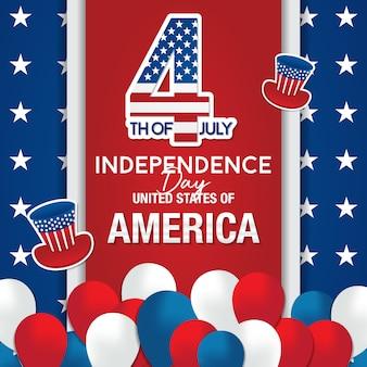 Le 4 juillet, jour de l'indépendance américaine