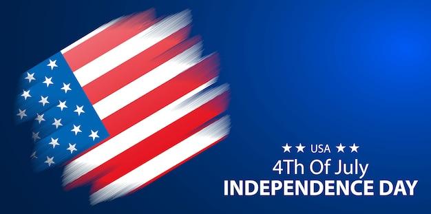 4 juillet, jour de l'indépendance des états-unis