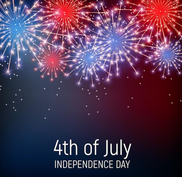 Le 4 juillet, jour de l'indépendance des états-unis
