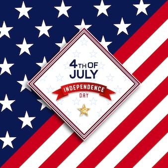 4 juillet jour de l'indépendance des etats-unis