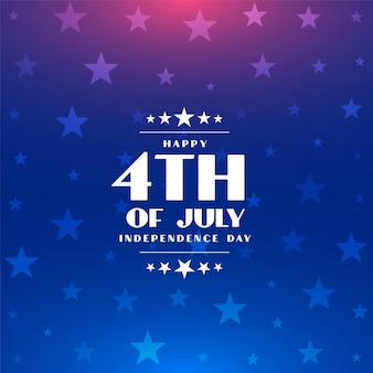 4 juillet joyeux jour de l'indépendance de l'amérique fond