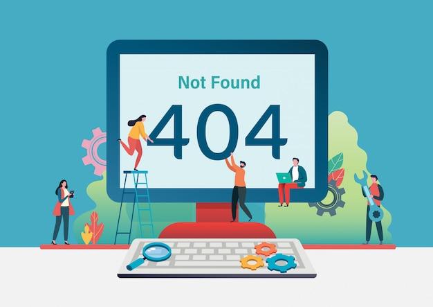 404 page d'erreur introuvable.