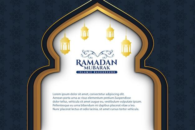 41 luxe ramadan kareem bleu couleur de fond bleu et or