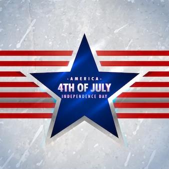 4ème américain de juillet fond