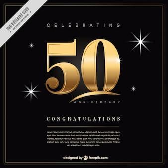 50 anniversaire de fond