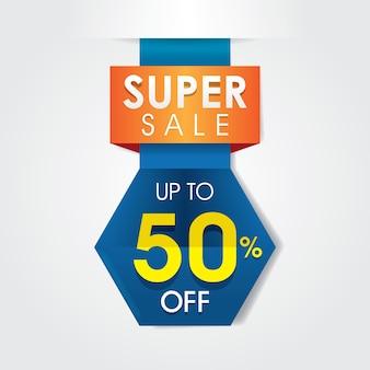 50% super design de modèles de vente