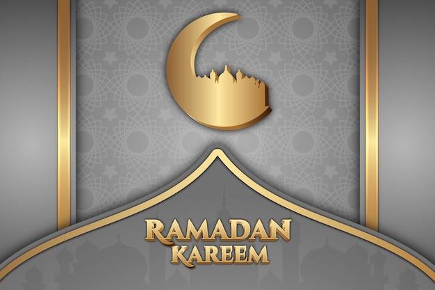 51 luxe ramadan karem couleur de fond bleu et or