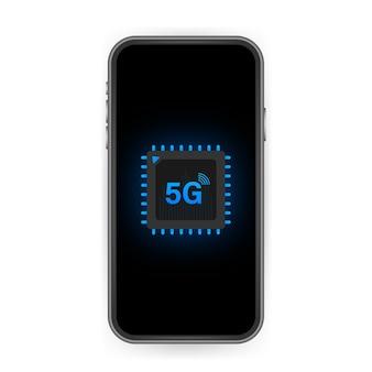 5g esim embedded sim carte icône symbole concept nouvelle technologie de communication cellulaire mobile à puce