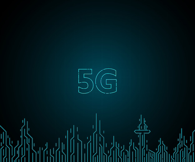 5g futur réseau internet sans fil pour les villes futures