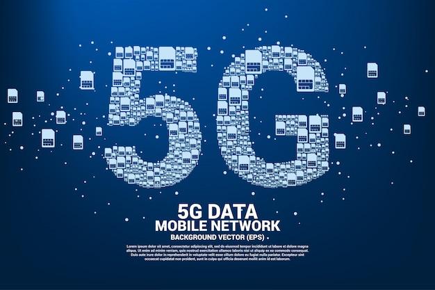 5g des réseaux de cartes sim mobiles
