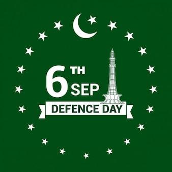 6e étiquette journée défense pakistan septembre