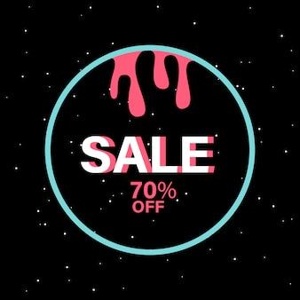 70% de rabais sur le vecteur d'insigne vente
