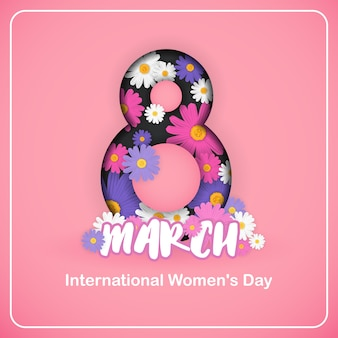 8 mars journée internationale de la femme