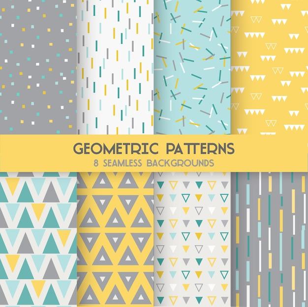 8 motifs géométriques sans soudure
