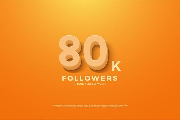 80k abonnés avec un numéro 3d