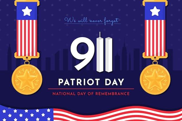 9.11 fond de jour patriote
