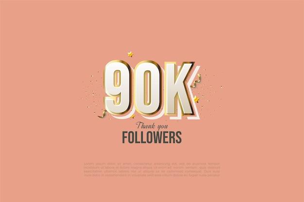 90 000 adeptes avec des figures de graffitis modernes.