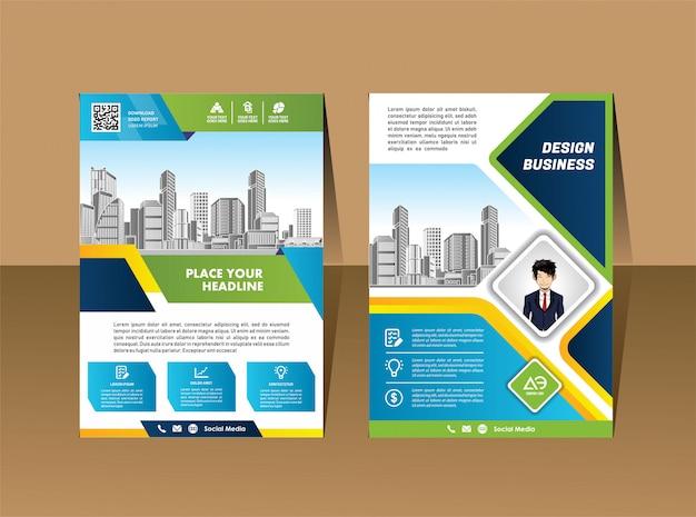 A4 catalogue livre brochure dépliant disposition